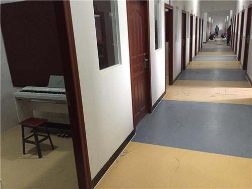 涪陵职教中心PVC地胶拼图