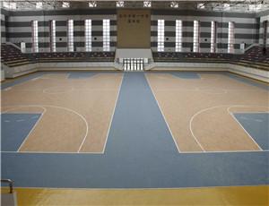 学校篮球场pvc地板