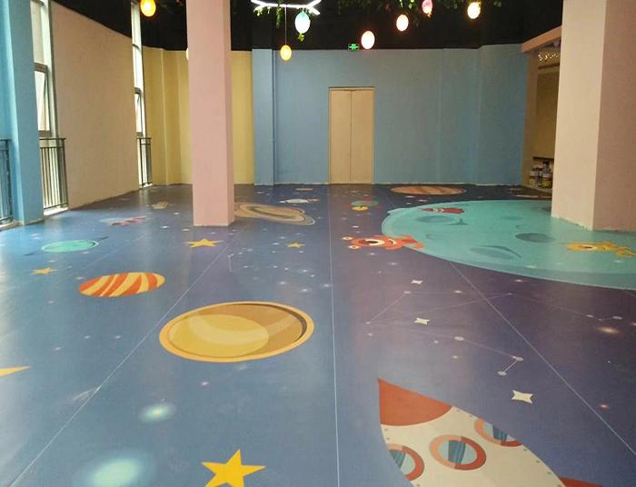 卡通定制地板