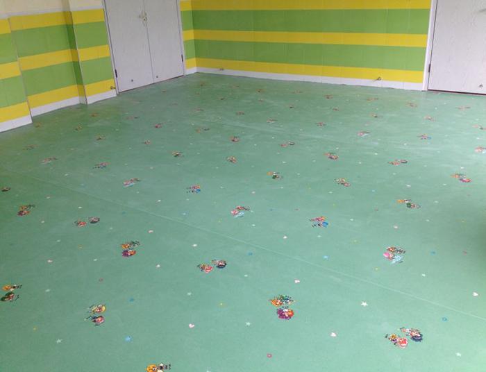 儿童卡通pvc地板胶