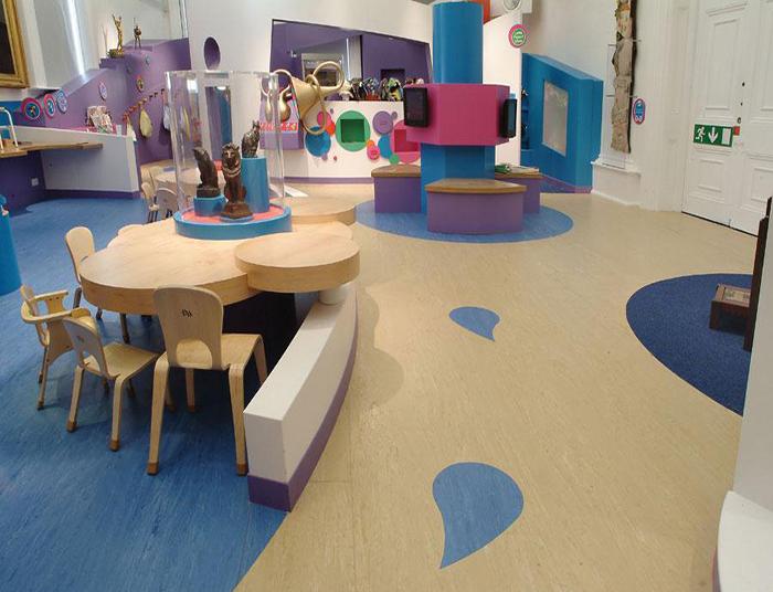 儿童商用pvc地板胶