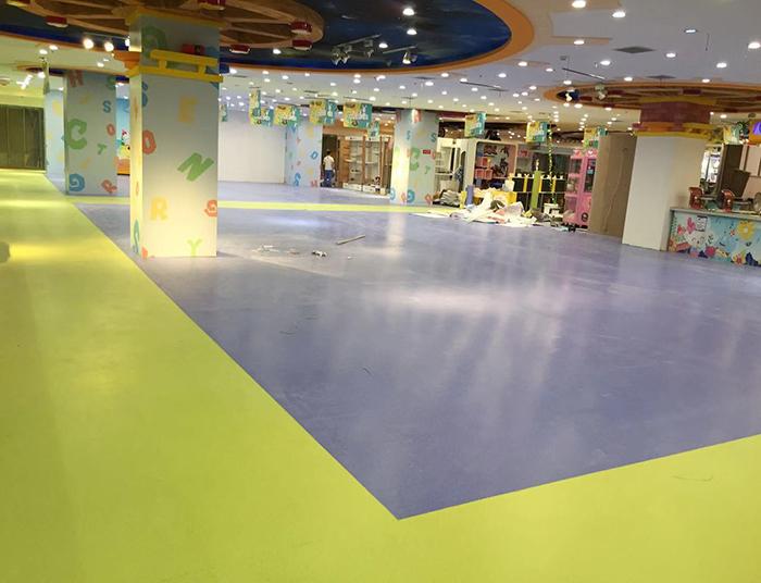 商场儿童pvc地板