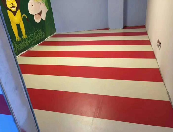 无甲醛儿童地板胶