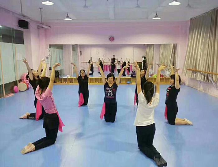 重庆舞蹈室PVC塑胶地板