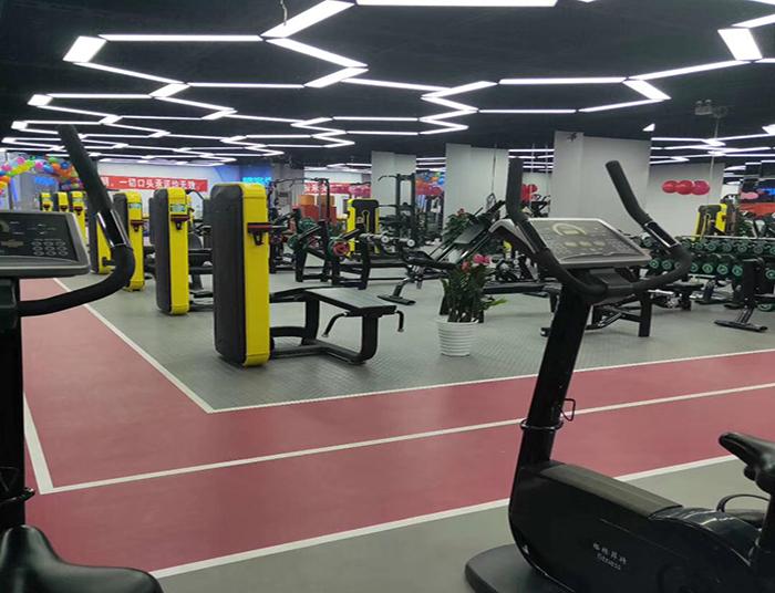 重庆健身房定制地板