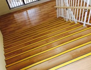 楼梯PVC地胶铺装