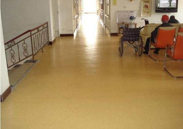 老年防滑环保pvc地板