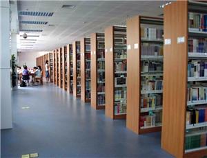 学校图书馆PVC地板胶