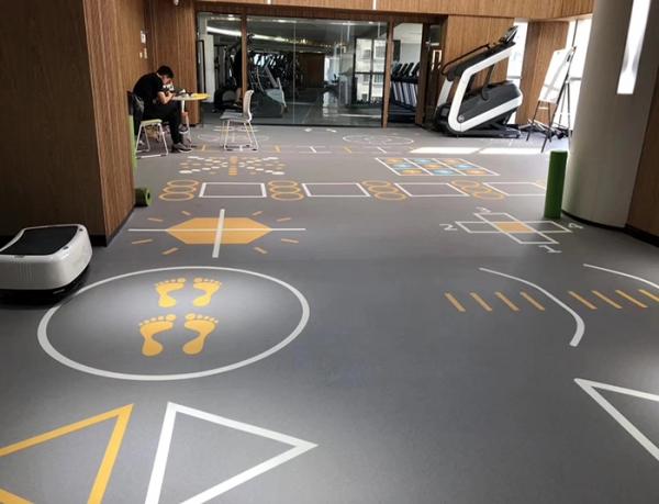 pvc定制地板胶