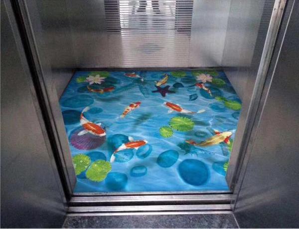 电梯定制pvc地板