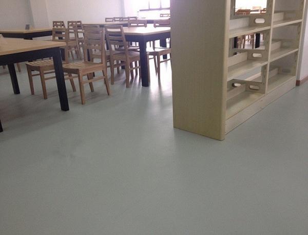 防滑耐磨学校地板胶