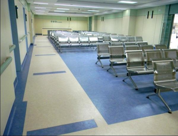 医院抗菌防滑pvc地板