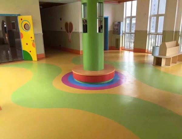 防火耐磨儿童环保地板