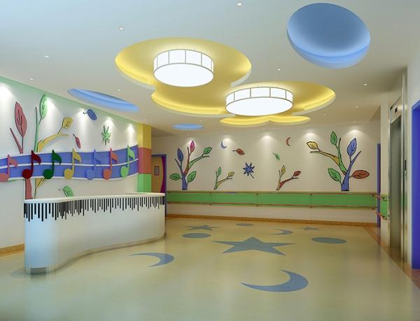 幼儿园pvc地板设计施工