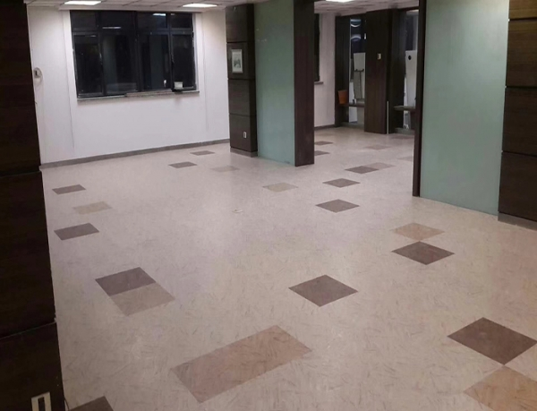 重庆办公室地面翻新塑胶地板