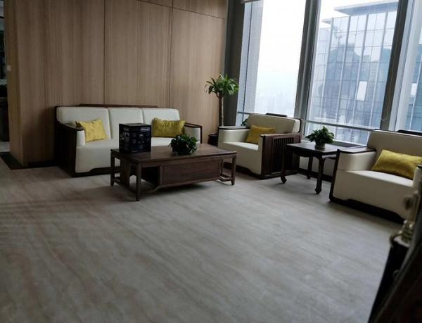 重庆写字楼办公室地板胶