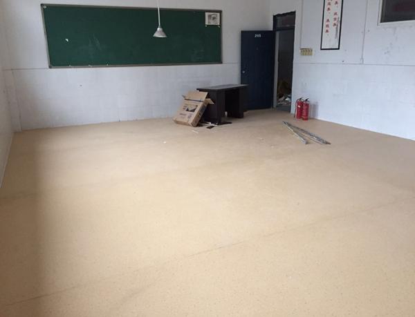 学校教室防滑塑胶地板