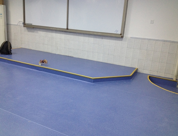 达州学校教室静音地板