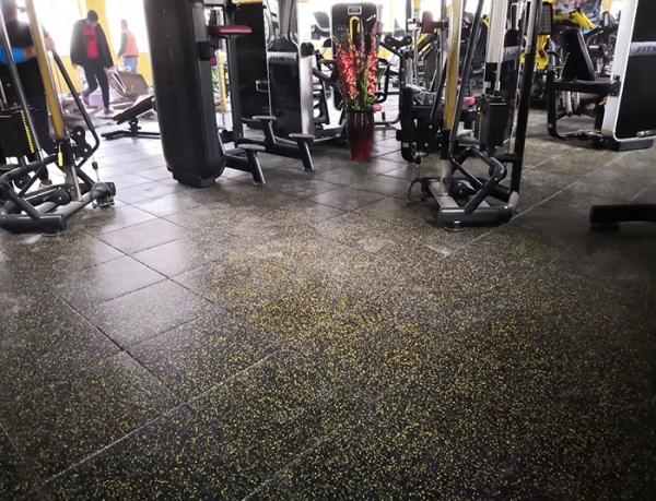 重庆健身房私教地板