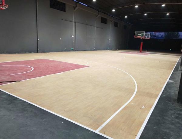 重庆篮球场搭建划线